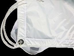 12x12 Fabrics: Full Silent Grid, 1/2 Soft Frost, Ultrabounce White/Black, Bleached Muslin | Contrast Cine - Nashville Video Equipment Accessory Rentals