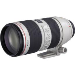 Canon 70-200mm f2.8L IS Zoom Lens | Contrast Cine - Nashville Film & Video Camera Lens Rental