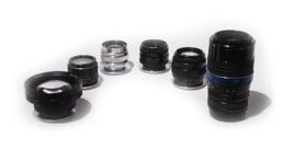 EF Vintage Russian Art Lens Set: 20mm f3.5, 28mm f3.5, 37mm f2.8, 50mm f1.4, 58mm f2, 85mm f2, 105mm f2.8 Macro, 135mm f3.5 | Contrast Cine - Nashville Film & Video Camera Lens Rental