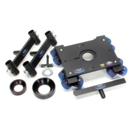 Dana Dolly with Rails C-Stands & Travel Case | Contrast Cine - Nashville Video Camera Support Equipment