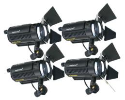 Dedolight Tungsten Spotlight Kit | Contrast Cine - Nashville Video Lighting Kit Rentals