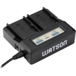 Dual Sony NP-FW50 Battery Charger   Contrast Cine - Nashville Video Camera Battery Rentals