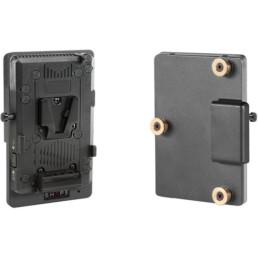 Gold Mount to V-Mount Adapter Plate   Contrast Cine - Nashville Video Camera Battery Rentals