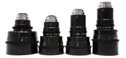 Lomo Vintage C-Series 2X Anamorphic: 35mm T2.5, 50mm T2.2, 75mm T2.2, 100mm T2.8   Contrast Cine - Nashville Film & Video Camera Lens Rental