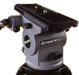 Miller Arrow 55HD Carbon Fiber Tripod | Contrast Cine - Nashville Video Camera Support Equipment