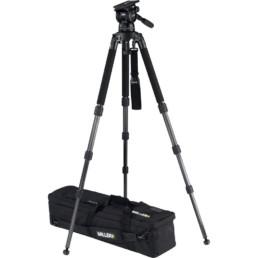 Miller Compass 25 Fluid Head Carbon Fiber Tripod | Contrast Cine - Nashville Video Camera Support Equipment