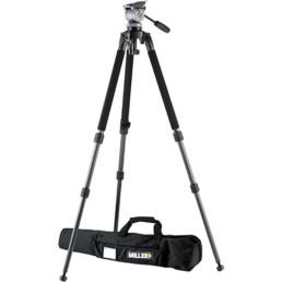 Miller DS 10 Fluid Head Carbon Fiber Tripod | Contrast Cine - Nashville Video Camera Support Equipment