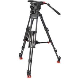OConnor Ultimate 2560 Fluid Head with Sachtler 150mm EFP Tripod Legs | Contrast Cine - Nashville Video Camera Support Equipment