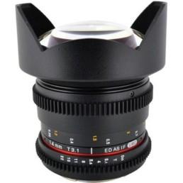 Rokinon 14mm T3.1 EF Mount Cine Lens | Contrast Cine - Nashville Film & Video Camera Lens Rental