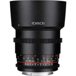 Rokinon 85mm T1.5 EF Mount Cine Lens | Contrast Cine - Nashville Film & Video Camera Lens Rental