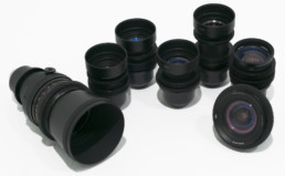 PL Russian Oval Aperture Blue-Flare Cine Primes: 20mm f3.5, 28mm f3.5, 37mm f2.8, 58mm f2, 85mm f2, 135mm f2.8, 180mm f2.8 | Contrast Cine - Nashville Film & Video Camera Lens Rental