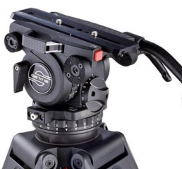 Sachtler CIne7+7 HD Carbon Fiber Tripod | Contrast Cine - Nashville Video Camera Support Equipment