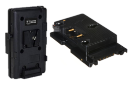 V Mount to Gold Mount Battery Adapter PLate   Contrast Cine - Nashville Video Camera Battery Rentals