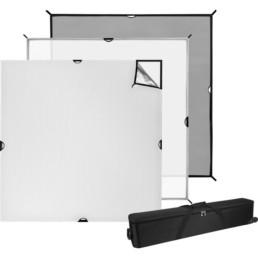 Westcott 6x6 Scrim Jim Cine Frame Kit | Contrast Cine - Nashville Video Lighting Kit Rentals