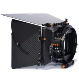 Bright Tangerine Viv Swing Away Matte Box | Contrast Cine - Nashville Video Equipment Accessory Rentals