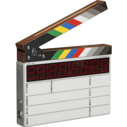 Denecke Compact Time Code Slate | Contrast Cine - Nashville Video Equipment Accessory Rentals