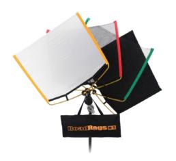 Matthews Road Rags 24x36 Flag Net Diffusion Kit | Contrast Cine - Nashville Video Grip Equipment Rental