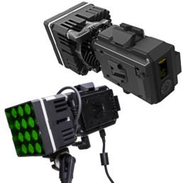 Digital Sputnik DS1 RGB LED Fresnel Light Kit | Contrast Cine - Nashville Video Lighting Kit Rentals