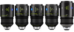 Arri Master Anamorphic Lens Set | Contrast Cine - Nashville Film & Video Camera Lens Rental