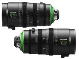 Fujinon Premista Large Format Cine Zooms: 28-100mm T2.9, 80-250mm T2.9-3.5 | Contrast Cine - Nashville Film & Video Camera Lens Rental