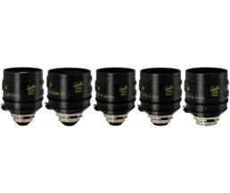 Cooke S4i T2 Lens Set: 16mm, 25mm, 32mm, 50mm, 75mm | Contrast Cine - Nashville Film & Video Camera Lens Rental