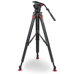 Sachtler Video 18 Flowtech 100 Tripod | Contrast Cine - Nashville Video Camera Support Equipment
