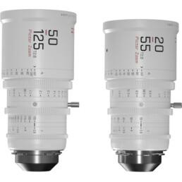 DZOFilm Pictor 20-55mm & 50-125mm T2.8 Zooms (PL or EF) | Contrast Cine - Nashville Film & Video Camera Lens Rental