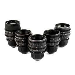 Zeiss MK3 Superspeed T1.3 Lens Set: 18mm, 25mm, 35mm, 50mm, 85mm | Contrast Cine - Nashville Film & Video Camera Lens Rental